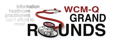 WCM-Q Grand Rounds 2018-2019 Banner
