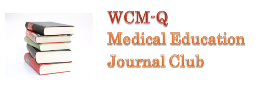 Medical Education Journal Club Banner