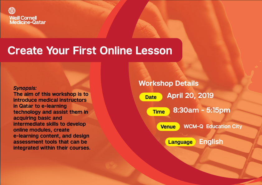 Create Your first Online Lesson Banner