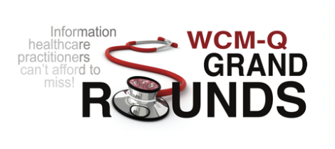 WCM-Q Grand Rounds 2019 - 2020 Banner